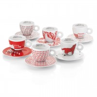 Illy Robert Wilson Collection - Set of 6 Cappuccino Cups