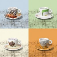 Illy SustainArt Collection - Set of 4 Cappuccino Cups