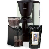 Capresso Grind & Brew Drip Coffee Gift Pack