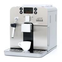 Gaggia Brera Espresso Machine in Silver