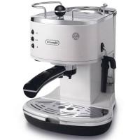 DeLonghi ECO310 Icona Semi-Automatic Espresso Machine in White