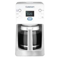 DCC-2800 Glass Carafe Coffeemaker Perfec Temp 14-cup in White